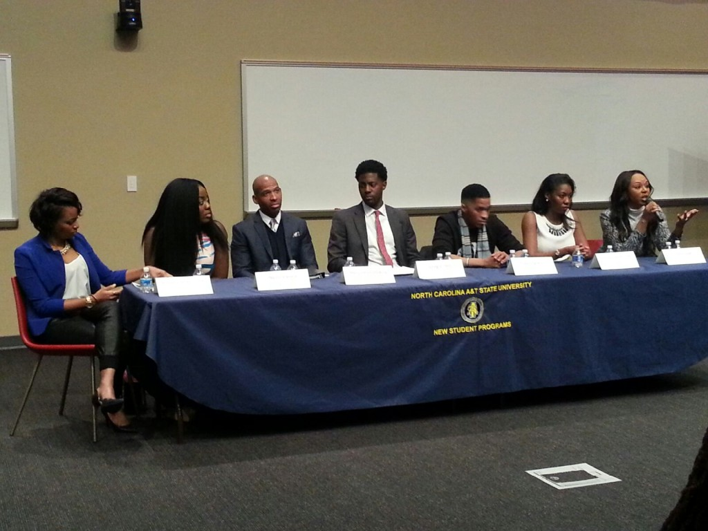 Speaking At North Carolina Student Success Panel